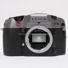 Leica R9 Anthracite 35mm SLR Camera - LAST R BODY MADE ! INCREDIBLE CONDITION !