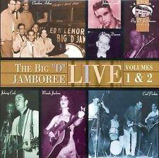 Unknown Artist The Big D Jamboree Live! Volumes 1 & 2 CD