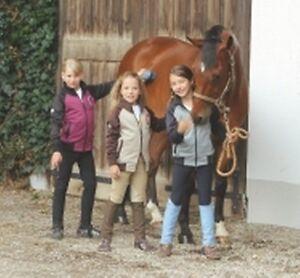 Covalliero Reithose PolyStar für Kinder, Kniebesatz, NEU