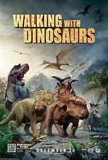 WALKING WITH DINOSAURS NEW MOVIE POSTER 13X20 IN. JARASSIC CGI T-REX PREHISTORIC