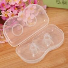 2 PCS Silicone Mothers Nipple Protectors Feeding Shields Breast Protection Cover