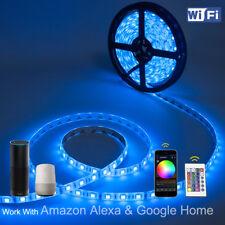 WOW - 5M 5050 5630 LED Strip Light  RGB/ RGBW Multi Color DC 12V Decor Light