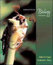 Concepts In Biology Enger, Eldon, Ross, Frederick C Paperback