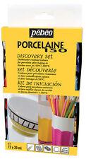 Pebeo Porcelaine 150 12 x 20 ml Discovery Set Brillant Peinture sur céramique & la Chine