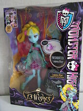MONSTER High 13 WISHES-LAGOONA BLUE-NUOVO & OVP