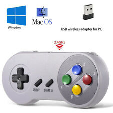 Wireless Super Nintendo SNES Retro Controller Gamepad for PC MAC Raspberry Pi