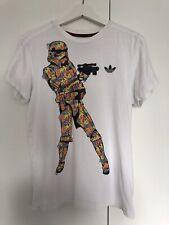 RARE Limited Edition Asidas Originals STAR WARS Stormtrooper T-Shirt SMALL