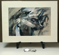 "Giclée Print Matted 18x24 ""Abstract of Turbulence, Love"" by artist Elaine Lanoue"