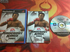 KNOCKOUT KINGS 2002 PLAYSTATION 2 PS2