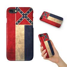 MISSISSIPPI US STATE FLAG BACK HARD CASE COVER FOR APPLE IPHONE