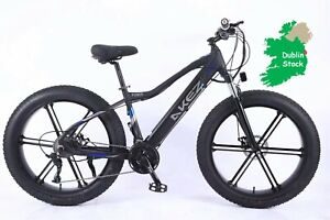 """Fully Equipped Fat Tire Electric Mountain Bike  26"""" Snow Tire of Dublin Supply"""