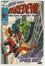 Daredevil #58 4.0 Vg Cow Pages Silver Age