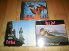 Meat Loaf - Bat Out Of Hell II Album/Rock And Maxi/I'd Lie For You Maxi - 3 CDs