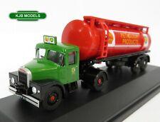 BNIB OO GAUGE OXFORD 1:76 76SHT001 Scammell Highwayman Tanker Shell / BP Lorry