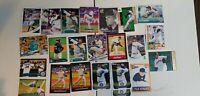 "Felix Hernandez ""KING""  Baseball Card Lot: Mixed Years/Makes NR-Mint Mariners"