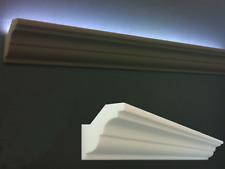 CORNICI IN POLISTIROLO TAGLIATE MM 120 x 120 x 1000 DECORAZIONI CORNICE PER LED