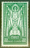 Ireland 1937 2s6d Emerald Green SG102 Fine & Fresh Mtd Mint