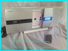 ★ Vertikal Stereoanlage CD Player USB MP3 Bluetooth AUX Radio X-Bass BT NEU OVP