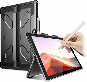 i-Blason For Microsoft Surface Pro 7 6 5 4, Heavy Duty Kickstand Case Pen Holder