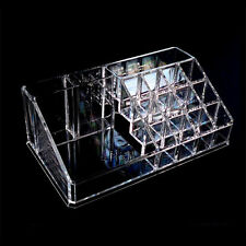 Clear Acrylic Cosmetic Organizer Makeup Case Holder Display Storage Box Desktop