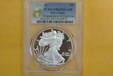 2018-W $1 Silver Eagle Coin Proof PCGS PR69 DCAM FirstStrike Congratulations Set