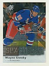 2009-10 Upper Deck SpX SPXCITEMENT #X1 WAYNE GRETZKY 76/999 Oilers Rangers Kings