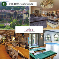 Kurzurlaub Schwarzwald mit Halbpension 4 Tage im Parkhotel Luise Bad Herrenalb