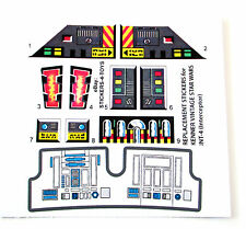 Kenner INT4 / INT-4 INTERCEPTOR Vintage Star Wars replacement Sticker set +EXTRA