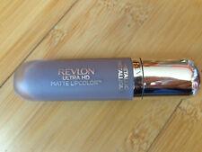 Revlon Ultra HD Matte METALLIC Lipcolor Lipstick 720 Luster Lustre .2 oz