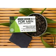 Human Nature Bamboo Charcoal Cleansing Soap Bar for Men