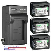 Kastar Battery AC Wall Charger for BP-718 & Canon VIXIA HF R800 HFR800 Camera