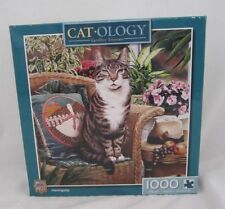 Masterpieces 1000 Pc Jigsaw Puzzle Cat-ology Hemingway by Geoffrey Tristram