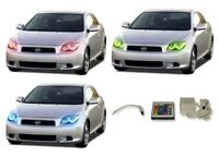 for Scion tC 05-07 RGB Multi Color IR LED Halo kit for Headlights