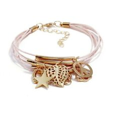 UK Boho Style Multilayer Crystal Bracelet Bangle Women Girls Wrist Jewellery Set