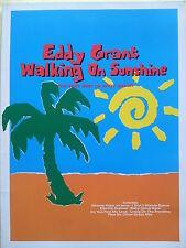 EDDY GRANT: Walking On Sunshine (PIANO/VOCAL/accordi Songbook) fuori stampa, menta