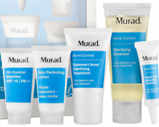5pc Murad Acne Clear Control Kit 60 day-Cleanser, Treatment, Lotion. *2 day ship
