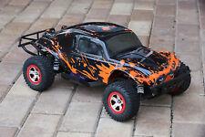 Custom Bug Body Muddy Red for Traxxas Slash 1/10 4x4 VXL 2WD Shell Baja 6811 Car