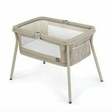 Chicco Lullago Portable Bassinet Sand (05079762870070)