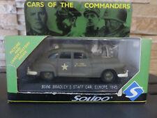 SOLIDO BRADLEY'S STAFF CAR EUROPE 1945 1/43 TBE EN BOITE