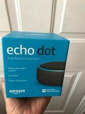 Amazon Echo Dot 3rd Generation with Alexa Voice Media Device - Charcoal