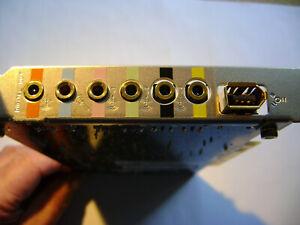 Audigy Sound Blaster 2ZS PCI Sound Card