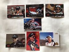 Lot of 7 different Dale Earnhardt Sr. cards w/ 1997 Autographed UD Haulin card