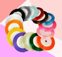 Wedding Party Tape Sewing Scrapbooking Craft Decor DIY Colorful Satin Ribbon