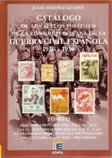 Edifil catalogus Spanje catalogue Spain Spanien Guerra Civil War Políticos 2