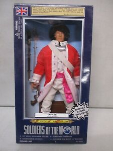 1998 Soldiers of the World Revolutionary War Officer Lot 2