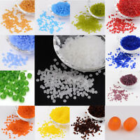 1101pcs/50g Round Glass 8/0 Frosted Loose Beads 3mm Beading Diy Jewelry Findings