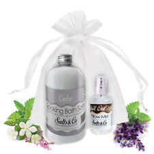 CALM & CHILL OUT- AROMATHERAPY BATH SALTS & PILLOW SPRAY GIFT SET