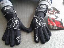 GUANTI AUTO OMOLOGATI ALPINESTARS TECH S RACING GLOVES RALLY BLACK GUANTES