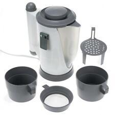 Travel Plug In 12V Car Kettle Set Cigarette Lighter Plug In Water Heater Boiler