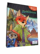 Disney's Zootropolis My Busy Book, Play Mat & Figures. Kids Christmas Gift